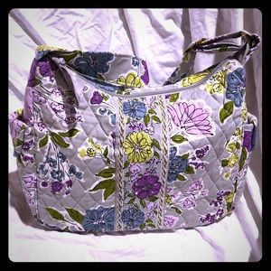 Vera Bradley Shoulder Bag in Watercolor - new